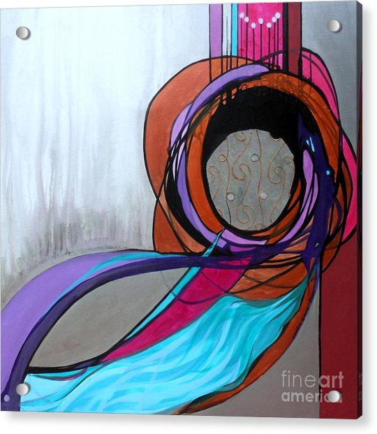 Aishet Chayil Woman Of Valor Acrylic Print