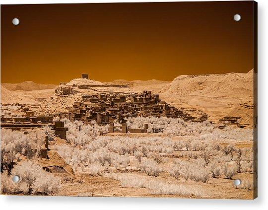 Ait Benhaddou Acrylic Print