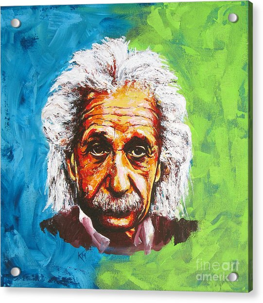 Albert Tribute Acrylic Print