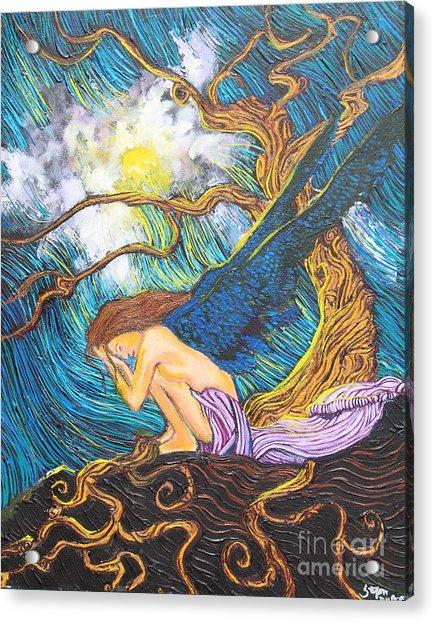 Allayah Acrylic Print