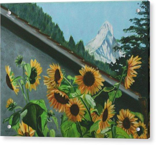 Alpine Delight Acrylic Print