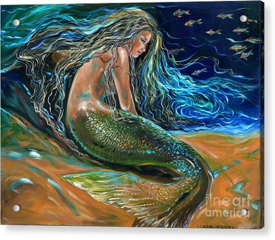 An Undersea Repose Acrylic Print
