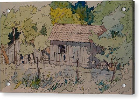 Anderson Barns Acrylic Print