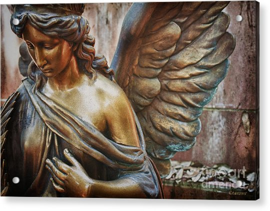 Angelic Contemplation Acrylic Print