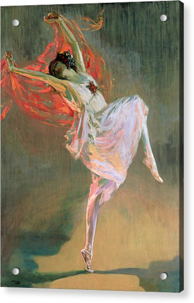 Anna Pavlova, 1910 Acrylic Print