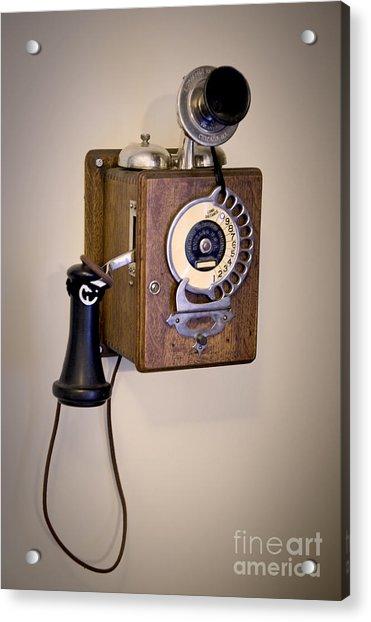 Antique Telephone Acrylic Print