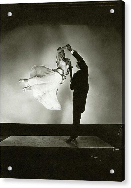 Antonio And Renee De Marco Dancing Acrylic Print by Edward Steichen