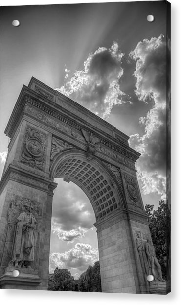 Arch At Washington Square Acrylic Print