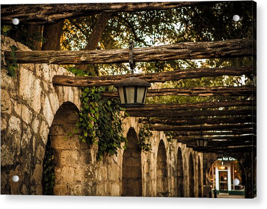 Arches At The Alamo Acrylic Print