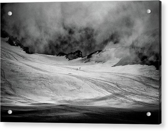 At The Foot Of Monte Rosa Acrylic Print