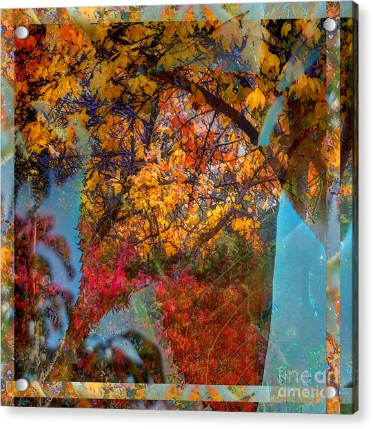 Autumn Fusion 5 Acrylic Print