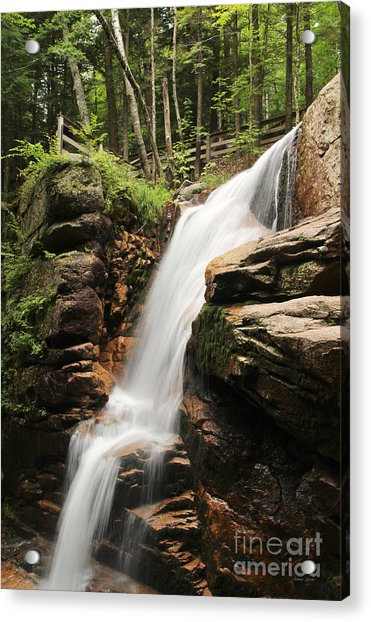Acrylic Print featuring the photograph Avalanche Falls by Jemmy Archer