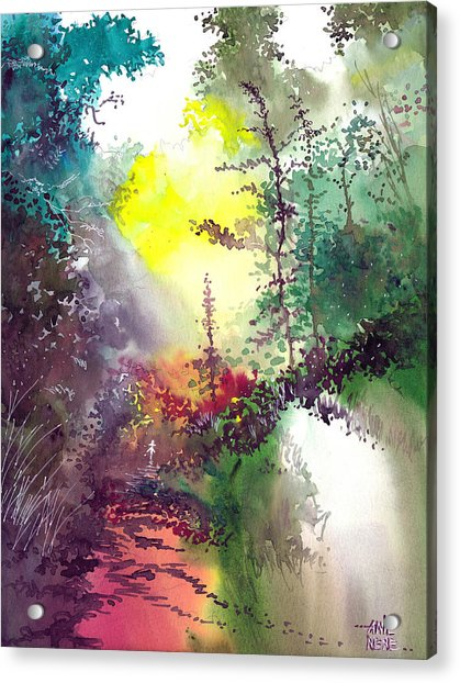 Back To Jungle Acrylic Print