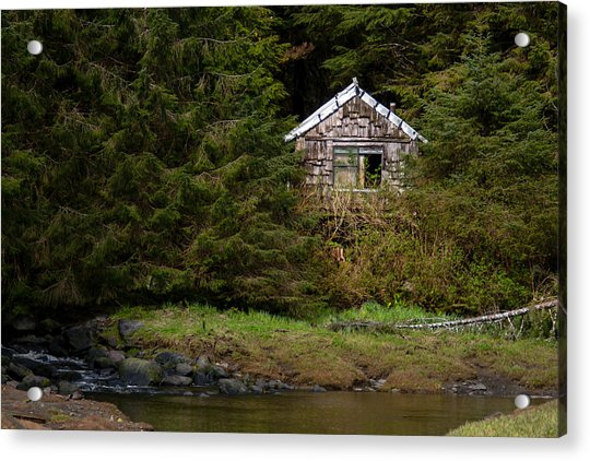 Backwoods Shack Acrylic Print