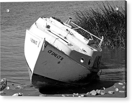 Bad Sail Day Acrylic Print