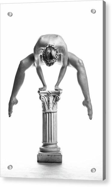 Balance Or Power Acrylic Print