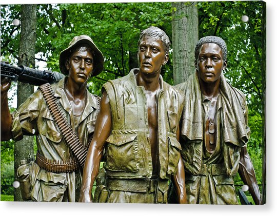 Band Of Brothers Acrylic Print