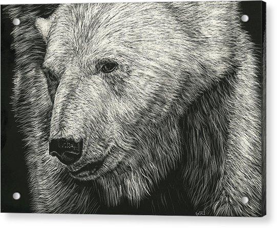 Barnicles Acrylic Print