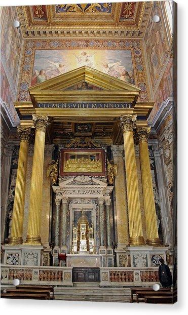 Basilica Of St John Lateran  Acrylic Print