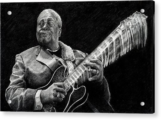 Bb King Of The Blues Acrylic Print