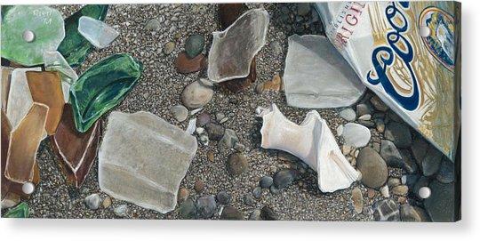 Beach Glass Acrylic Print