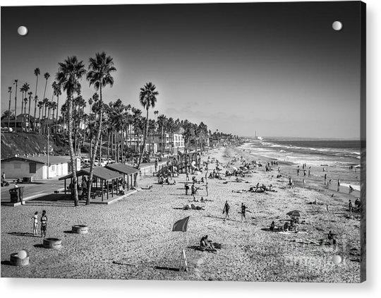 Beach Life From Yesteryear Acrylic Print