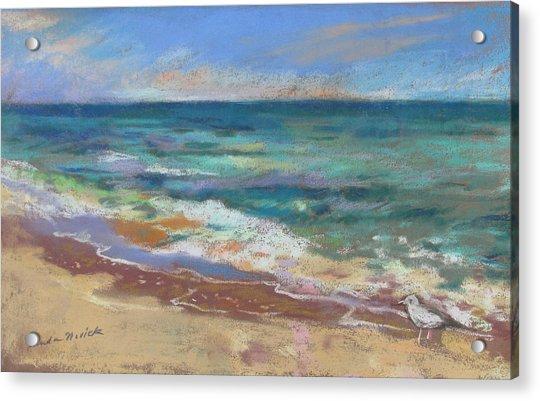Beach Meditation Acrylic Print