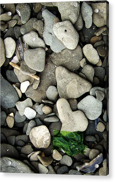 Beach Valentine Acrylic Print