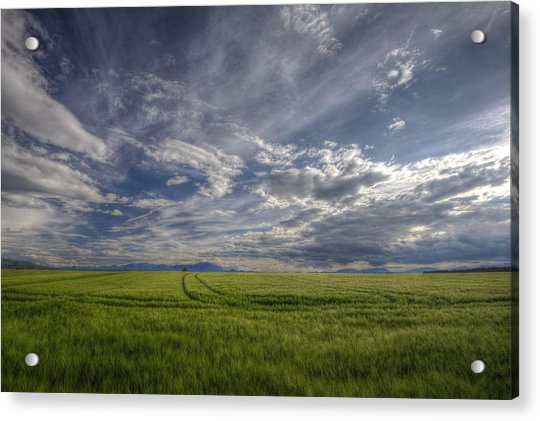 Beautiful Countryside Acrylic Print