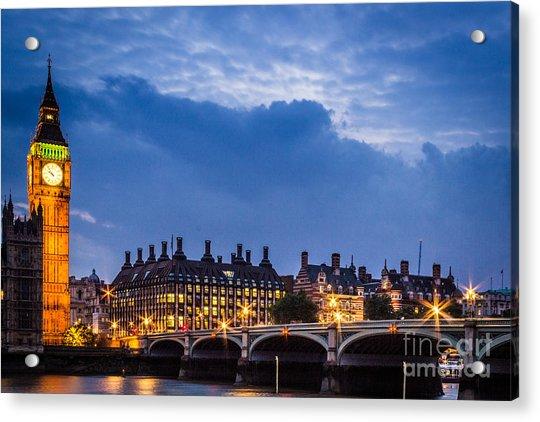 Beautiful London Acrylic Print