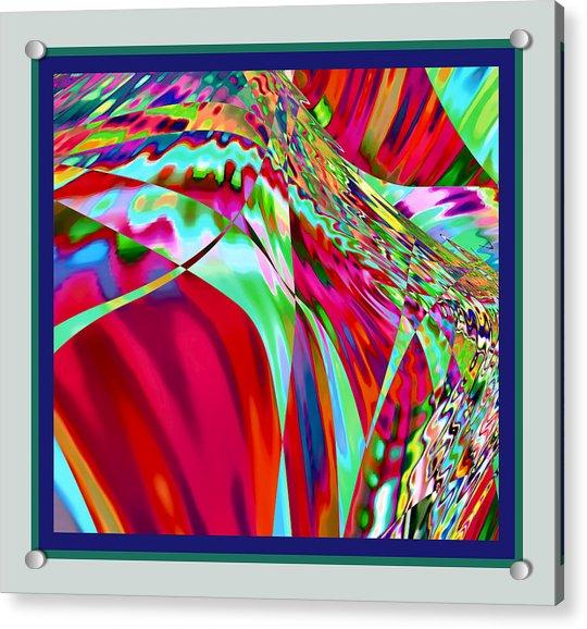 Acrylic Print featuring the digital art Bee Dream by Stephen Coenen