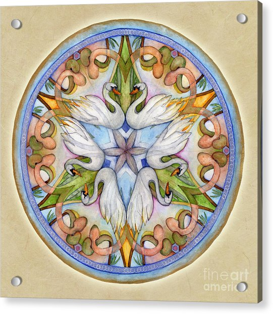 Beloved Mandala Acrylic Print