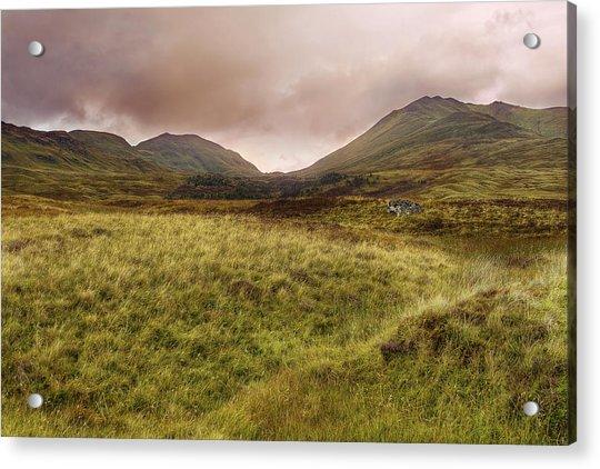 Acrylic Print featuring the photograph Ben Lawers - Scotland - Mountain - Landscape by Jason Politte
