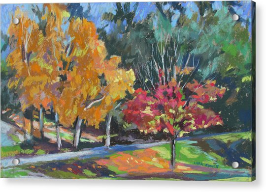 Berkshire Fall Acrylic Print