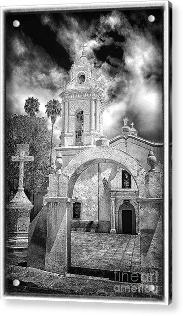 Bernal Church Acrylic Print