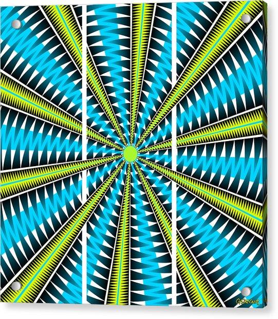 Big Bang Triptych Acrylic Print