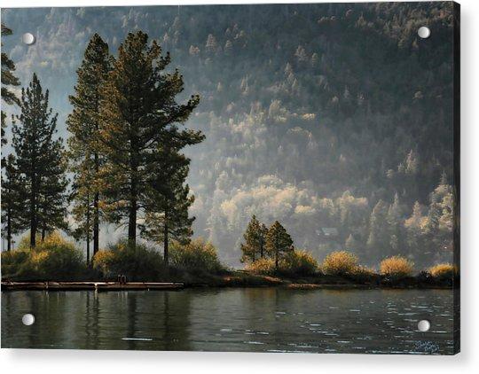 Big Bear Lake Scenic Acrylic Print