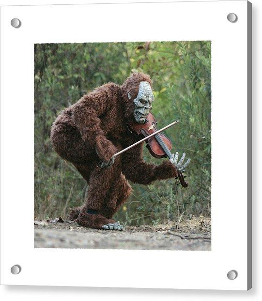 Bigfoot Viola Acrylic Print