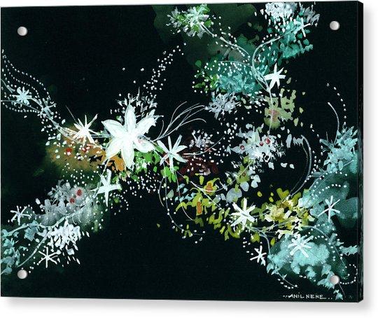 Black N White Acrylic Print