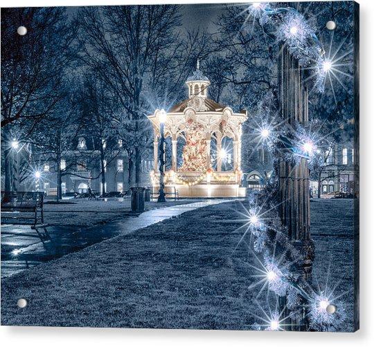 Blue Christmas Acrylic Print