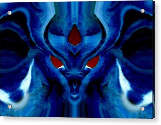 Blue Fox Acrylic Print