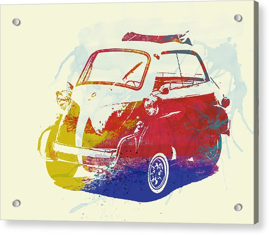 Bmw Isetta Acrylic Print