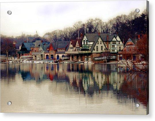 Boathouse Row Philadelphia Acrylic Print