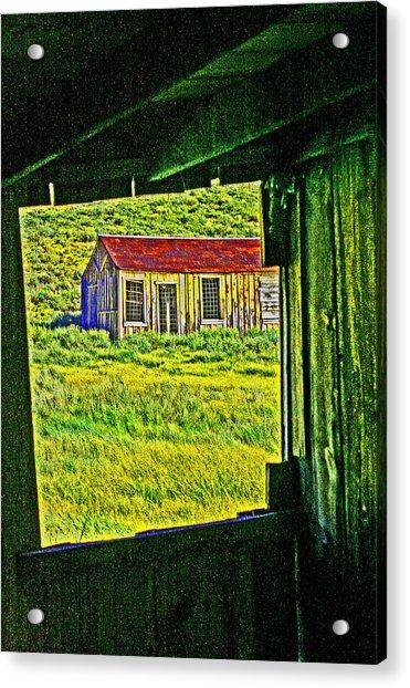Bodie Ca From My Window Acrylic Print