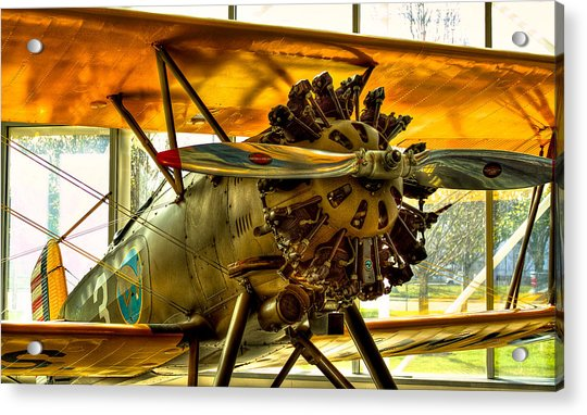 Boeing 100p Fighter Acrylic Print