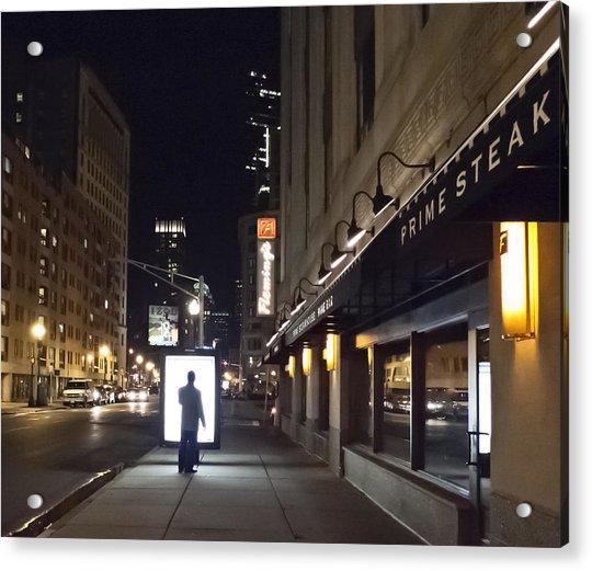 Boston Glow Acrylic Print