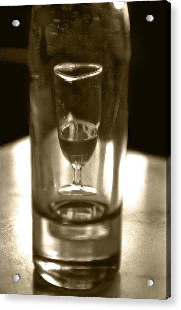 Bottle And Glass0023 Acrylic Print