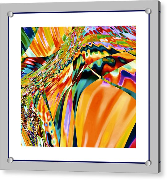 Acrylic Print featuring the digital art Brasil by Stephen Coenen