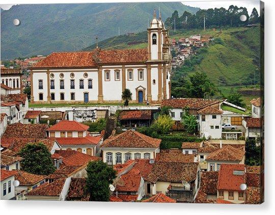 Brazil, Minas Gerais, Ouro Preto, View Acrylic Print by Anthony Asael