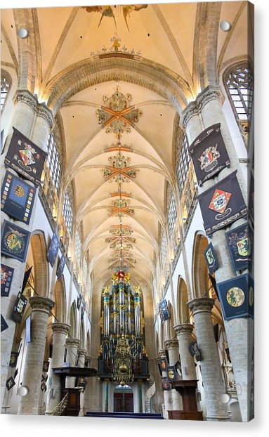 Breda Cathedral Acrylic Print